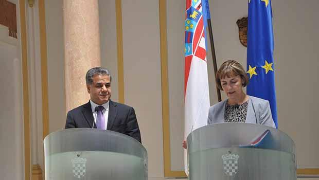 Hırvatistan: Kürdistan'a yardım, tüm dünyaya yardımla eşdeğerdir